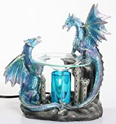 Dragon Polyresin Oil Warmer with Dimmer