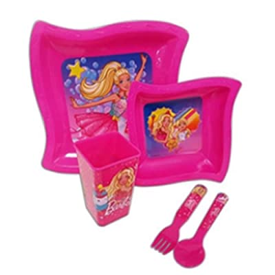 5 Piece Dinnerware Set Age/Grade 3+: Toys & Games