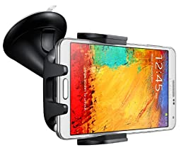 Samsung Car Mount Navigation Dock EE-V200 for Galaxy S4, S5, S6, S6 Edge, Note 2, Note 3 - Black