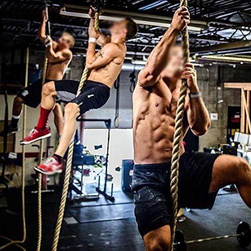 Chencheng フィジカルトレーニングロープクライミングロープ腕の筋力トレーニング筋肉体力ロープ スポーツアウトドア (Size : 9mX50mm)