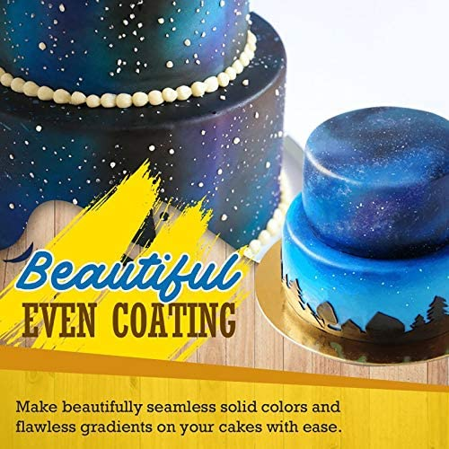 Color Spray for Kitchen DIY Baking Cake Cupcakes Cookies and ...