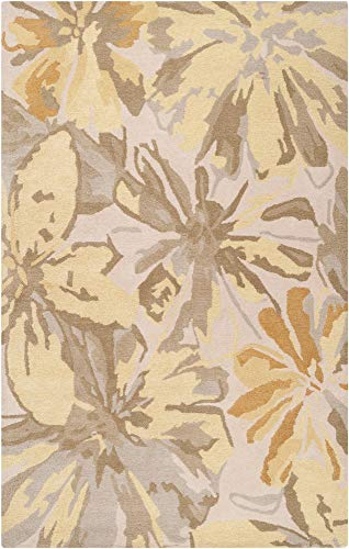 - Surya Athena ATH-5071 Contemporary Hand Tufted 100% Wool Ivory 2' x 3' Abstract Accent Rug