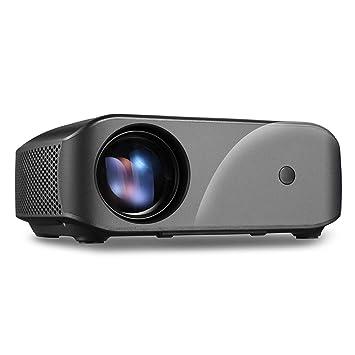 ZUKN Proyector LCD Portátil 1280 X 720P 2800 Lúmenes Home Cinema ...
