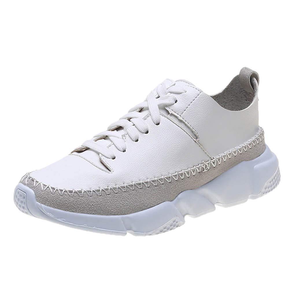 DressLksnf Zapatillas de Casual para Mujer Ligeros Zapatos de ...