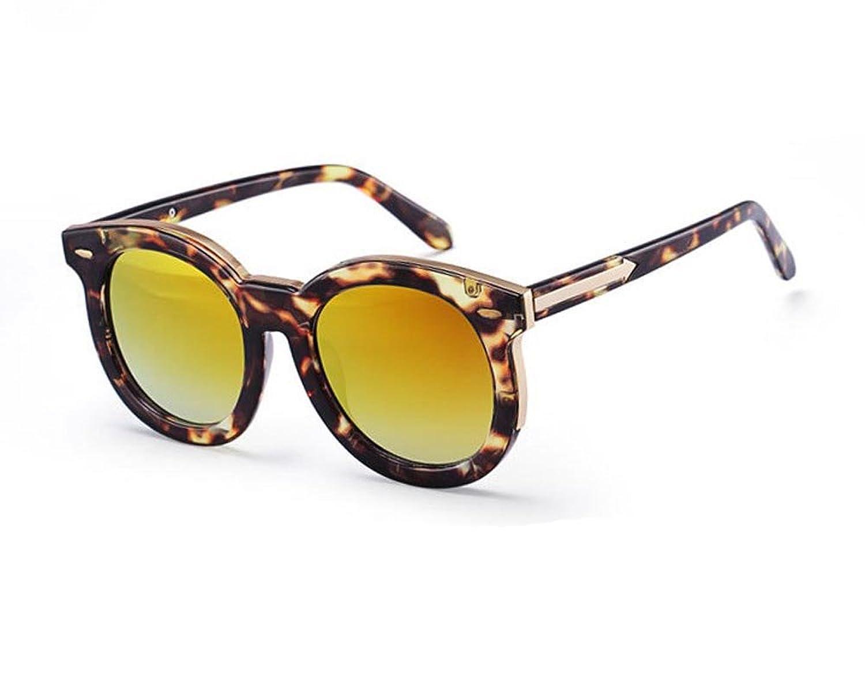 QMTO Colorful round sunglasses fashion sunglasses arrow