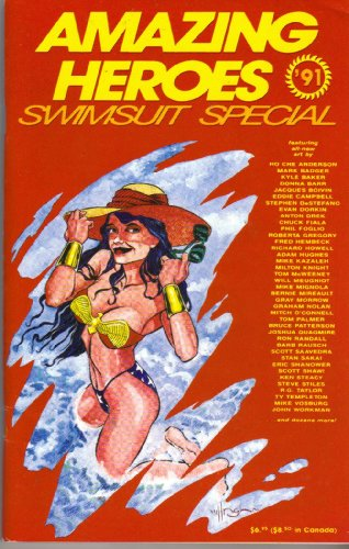 Amazing Heroes Swimsuit Special # 2