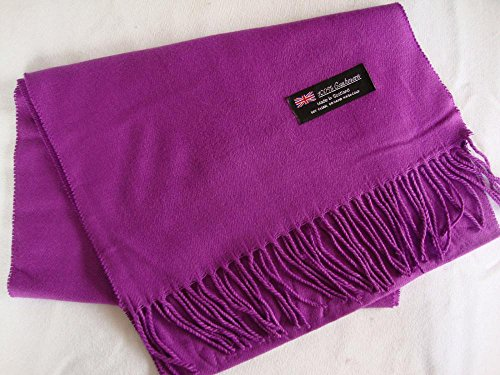 Purple Violet_Solid Scarf 72