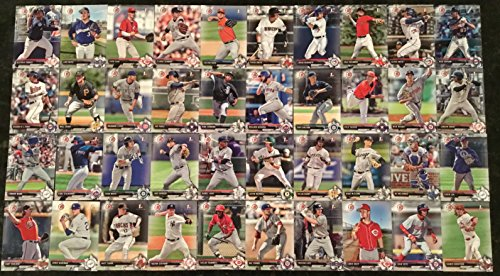 - 2017 Bowman Draft Complete 200 card set - Including Royce Lewis, Ronald Acura, Adam Haseley, Vladimir Guerrero Jr., Gleyber Torres, MacKenzie Gore, Jo Adell, and many more.