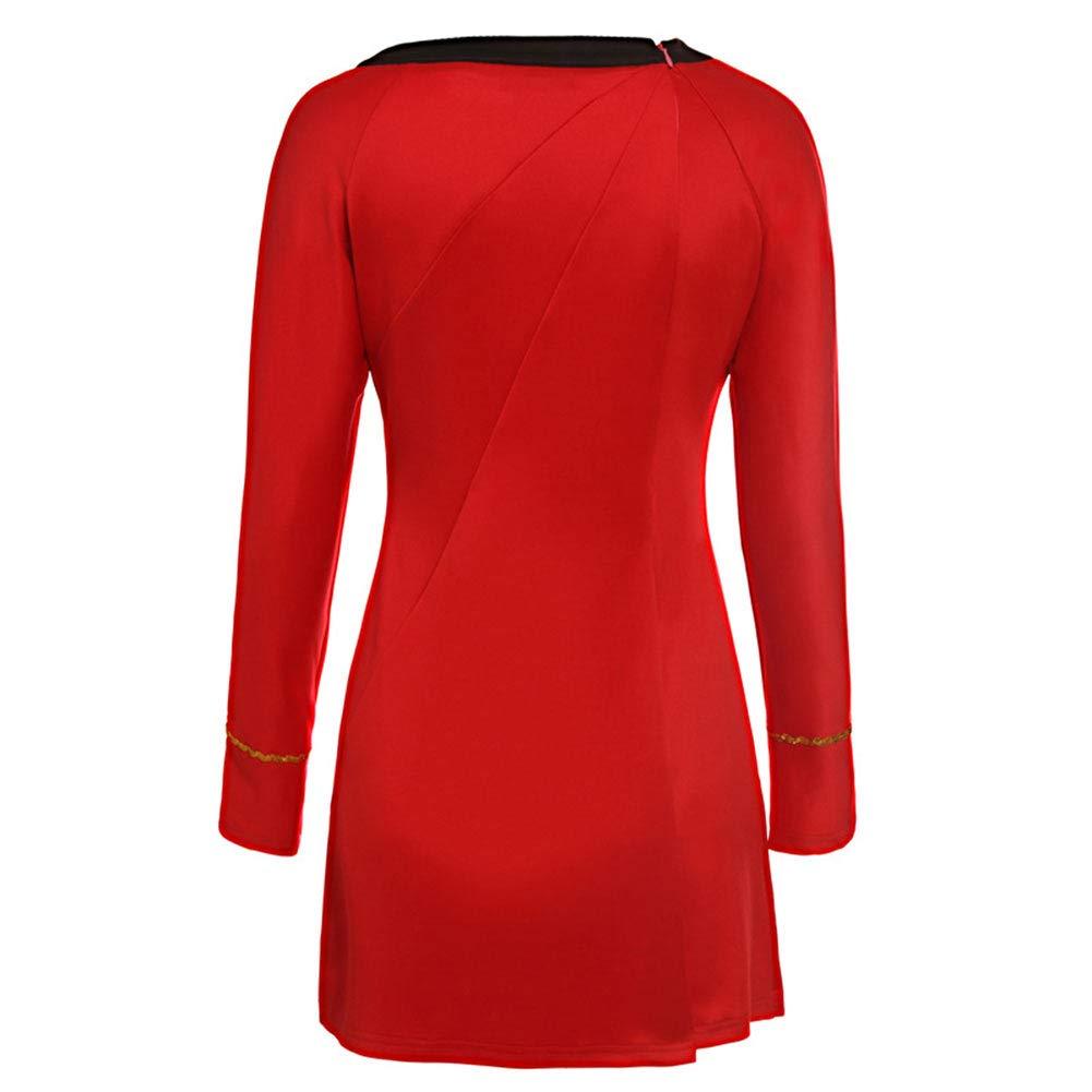 LACKINGONE Uniform Star Trek TOS Dress Costume Lady Women