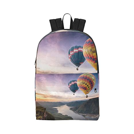 Colorful Sky Hot Air Ballon Classic Cute Waterproof Laptop ...
