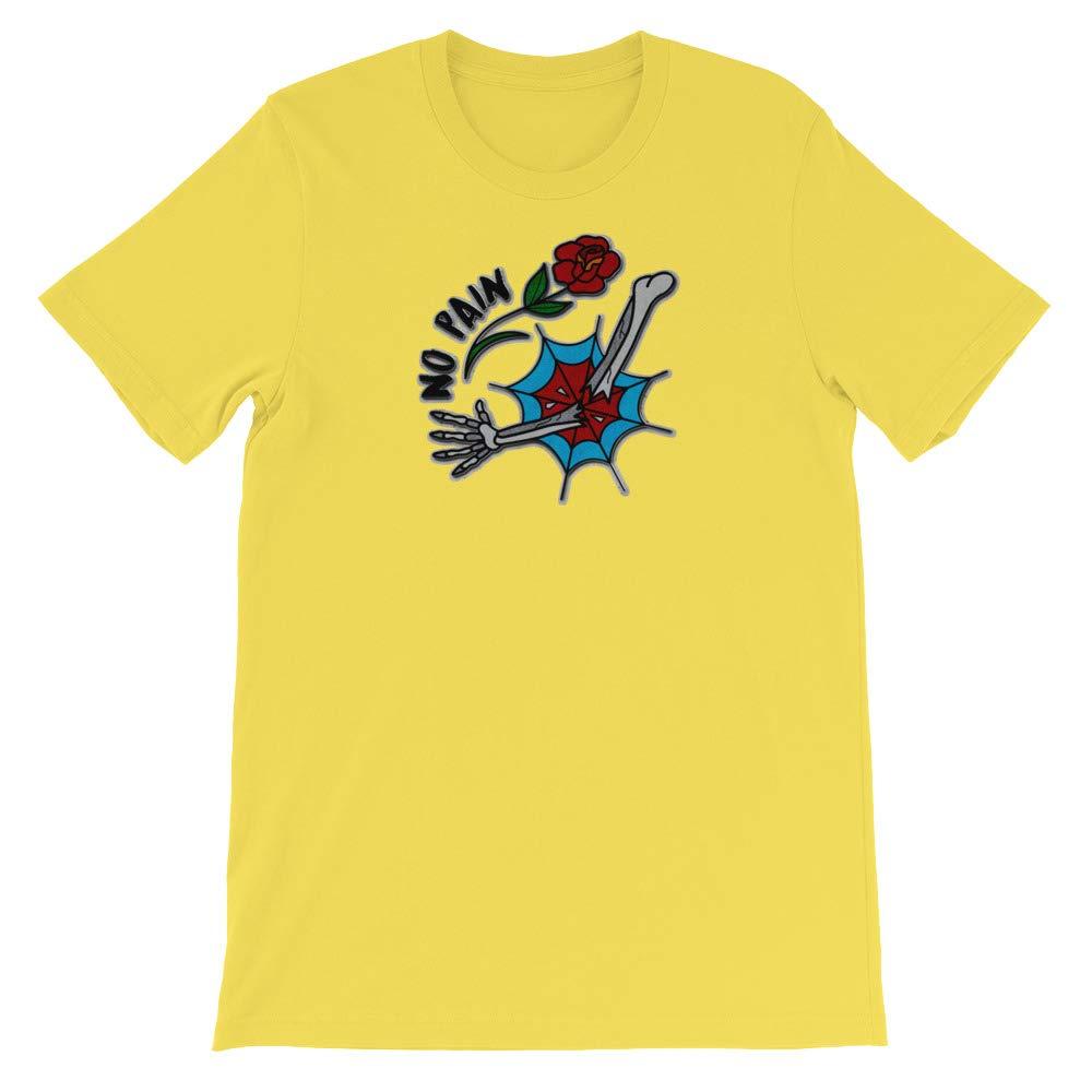 No Pain T-Shirt Graphic Shirts Funny Unisex Shirt