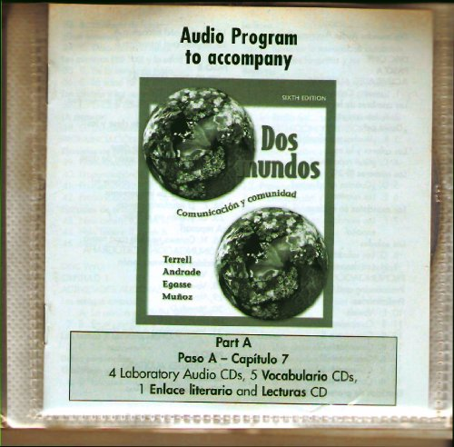Student Audio CD Program Part A Prepack t/a Dos mundos (Spanish Edition)