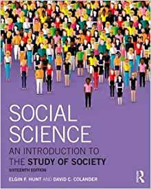 Society and Social Policy: Theoretical Perspectives on Welfare