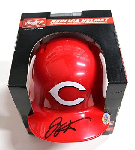 Joey Votto Cincinnati Reds Signed Autographed Signed Autographed Mini Helmet Cincinnati Reds Autographed Mini Helmet