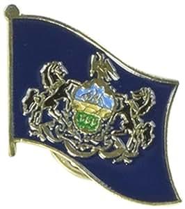 Nosotros bandera tienda bandera de Pensilvania Pin de solapa