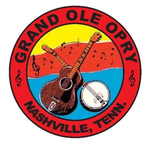 - Grand OLE Opry Wall Art | 3 Size Sticker Rock Decal R963 Nashville | Grand OLE Opry Poster (3 inch)