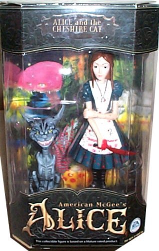 American McGee's Alice - Alice and the Cheshire Cat (Bloody version) Boxed  Set