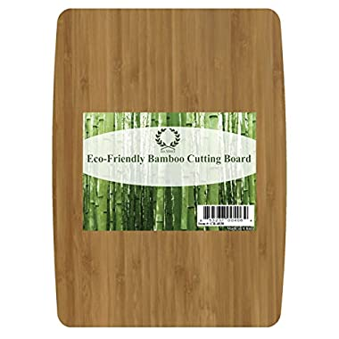 Da Vinci Natural Bamboo Cutting Board, Large 15.7 x 11.8 Inch, 3/4 Inch Thick