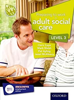 Preparing to work in adult social care level 2 amazon preparing to work in adult social care level 3 health and social care fandeluxe Image collections