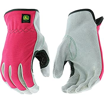 Men's Heavy Duty Winter Work Gloves with Leather Palm