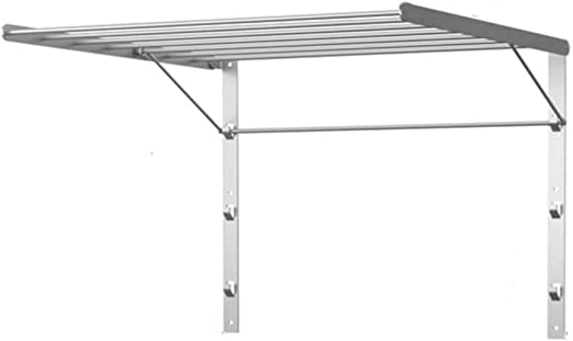 Wall Mounted Swing Arm Ches Rack Corrosion Resistant StainlessSteel Storage