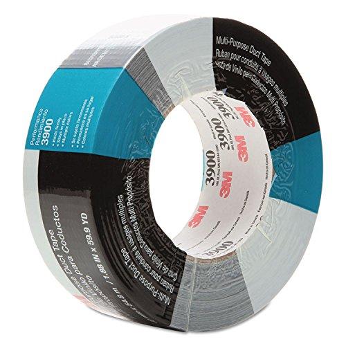 - 3M 3900 Multi-Purpose Duct Tape 3900, General Maintenance, 48mm x 54.8m, Silver