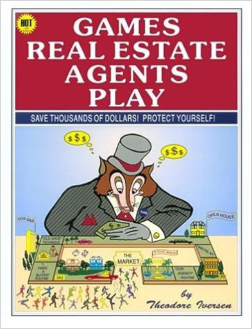 Read online Games Real Estate Agents Play PDF, azw (Kindle), ePub, doc, mobi