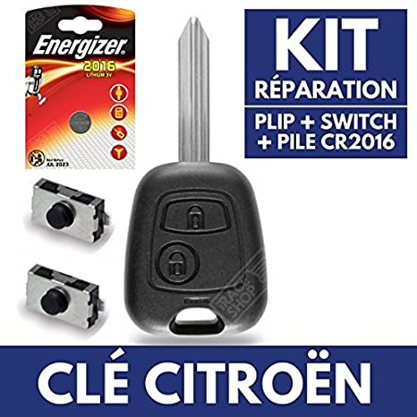 citroen c3 batteria plip