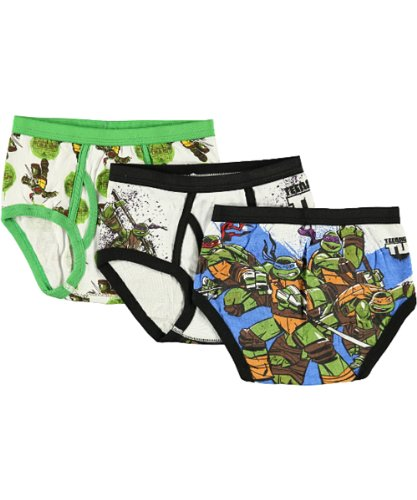Nickelodeon Little Boys' TMNT Brief - 3 Pack (Multi 6)
