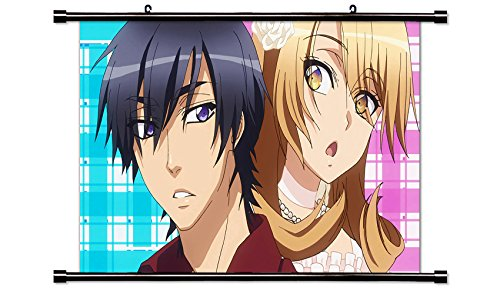Love Stage!! Fabric Wall Scroll Poster (32x18) Inches. [WP]- Love-13(L) - Love Stage Poster