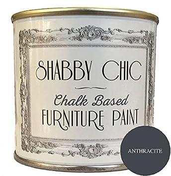 Auf Der Farbe Anthrazit Mit Kreide Ideal Um Möbel Shabby Chic