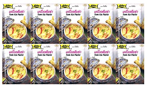 - Lobo Thai Envelope Spicy Coconut Chicken Soup, Tom Ka, 1.76 Ounce (Pack of 10)
