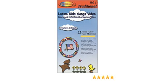 Amazon.com: Latino Kids Songs Video Vol 1 In Spanish and English [VHS]: Fabian Villegas: Movies & TV