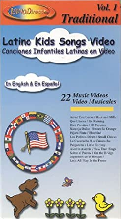 Latino Kids Songs Video Vol 1 In Spanish and English [VHS]
