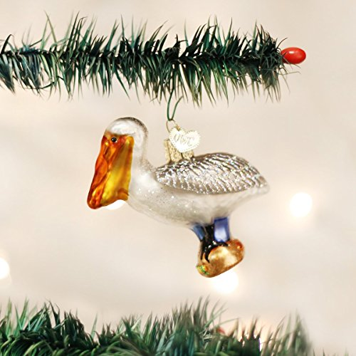 Old World Christmas Pelican Glass Blown Ornament by Old World Christmas (Image #1)