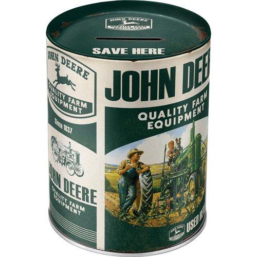 Nostalgic-Art 31015 Spardose John Deere Quality Farm Equipment