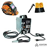 MIG Welder - Commercial 115v Mig 130 135 Amp Automatic Feed Flux Core Gasless Welder Mig-135aw Helmet AWT-FG3 Kit