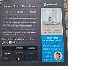 SimpliSafe Extra Home Security System 7 Piece Kit