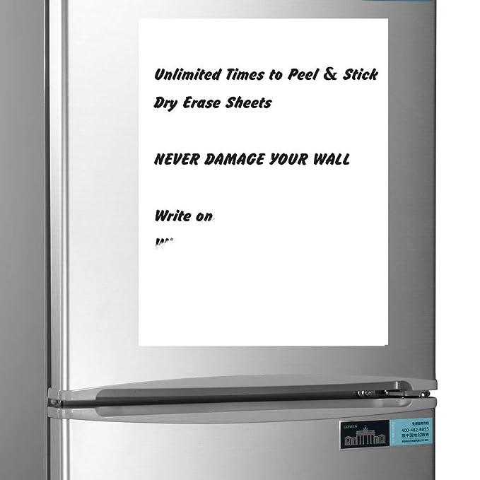 Lavable extraíble adhesivo Post It Memo Notas de borrado en seco ...