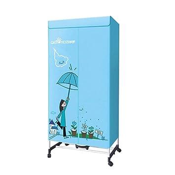 FORWIN UK- Desinfección silenciosa del hogar Secadora Multifuncional Secador de Tiempo de deshumidificación de Acero Inoxidable (Color : Azul): Amazon.es: ...