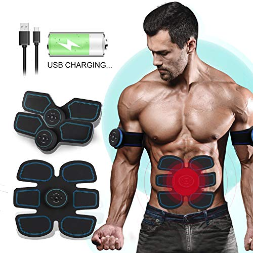 UNOSEKS Abs Stimulator Muscle Toner, Abdominal...