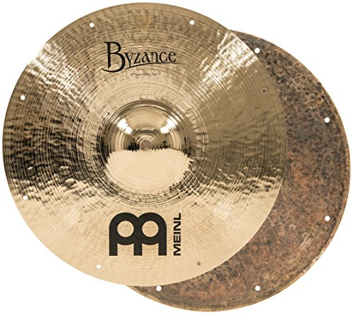Meinl Cymbals B14FH Byzance 14-Inch Brilliant Fast Hi Hat Cymbal Pair (VIDEO) ()
