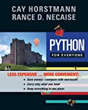 Python for Everyone, First Edition Binder Ready Version, Horstmann, 1118645200