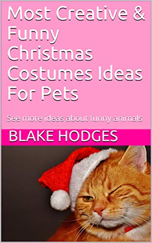 Most Creative & Funny Christmas Costumes Ideas For Pets: See more ideas about funny animals]()