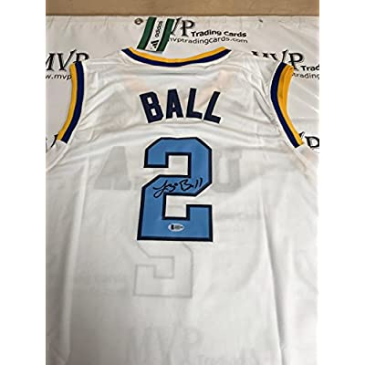 low priced e3047 106b8 Beckett Authentic Lonzo Ball Rookie Autograph White UCLA ...