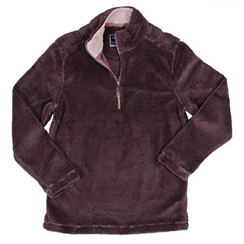 Brown 1/4 Zip Sweater - 4