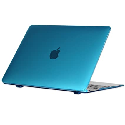 b6782520fa4b iPearl mCover Hard Shell Case for 12-inch MacBook (with 12-inch Retina  Display and USB-C Connector, Model A1534) (Aqua)