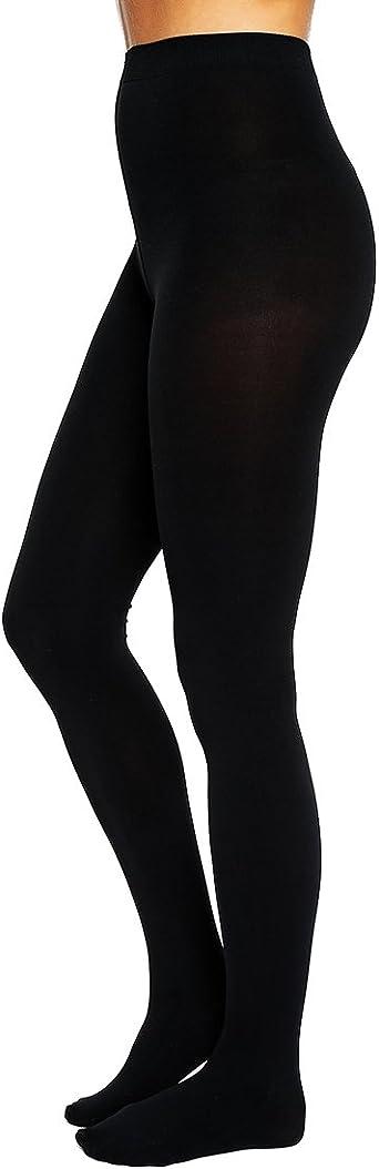 adidas Neo Leotardos Opaque Mallas Collant Negro Mujer Talla S + M negro 38: Amazon.es: Ropa y accesorios