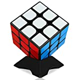VFunix 3x3 Speed Cube, Updated Structure and Vivid Colors Puzzle Cube - Stickered Edition