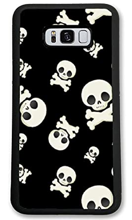 Amazoncom Custom Samsung Galaxy S8 Cases Skull Wallpaper